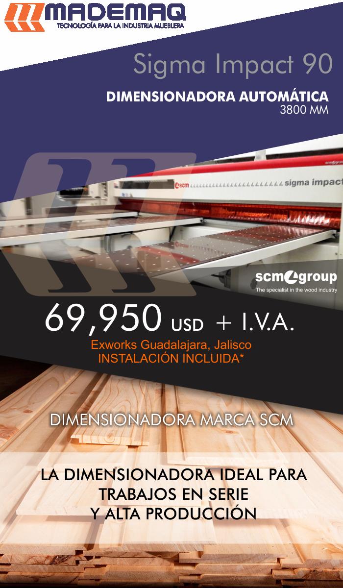 dimensionadora seccionadora madera promocion precio mdf aglomerado